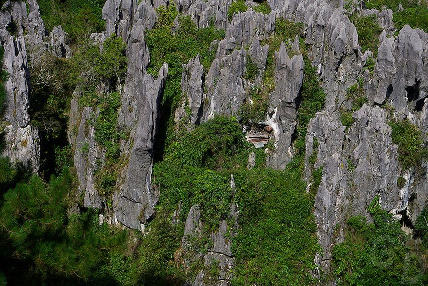 Sagada hanging coffins, Mountain Province, Philippines