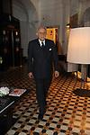 PIERO GNUDI<br /> PREMIO GUIDO CARLI - TERZA  EDIZIONE<br /> PALAZZO DI MONTECITORIO - SALA DELLA LUPA<br /> CON RICEVIMENTO  HOTEL MAJESTIC   ROMA 2012