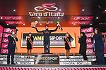 Filippo Ganna (ITA) Ineos Grenadiers wins Stage 5 of the 103rd edition of the Giro d'Italia 2020 running 225km from Mileto to Camigliatello Silano, Sicily, Italy. 7th October 2020.  <br /> Picture: LaPresse/Gian Mattia D'Alberto | Cyclefile<br /> <br /> All photos usage must carry mandatory copyright credit (© Cyclefile | LaPresse/Gian Mattia D'Alberto)