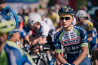Fabien Doubey (BEL/Wanty - Groupe Gobert) at the start<br /> <br /> 59th Grand Prix de Wallonie 2018 <br /> 1 Day Race from Blegny to Citadelle de Namur (BEL / 206km)