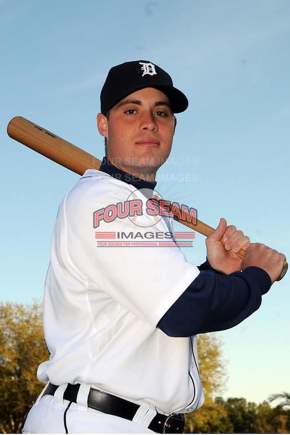 Feb 21, 2009; Lakeland, FL, USA; The Detroit Tigers catcher Jeff Kunkel (71) during photoday at Tigertown. Mandatory Credit: Tomasso De Rosa/ Four Seam Images