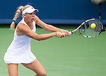 Caroline Wozniacki (DEN) falls to Serena Williams (USA) by 26 62 64 at the Western & Southern Open in Mason, OH on August 16, 2014.
