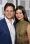 Steven Pasquale and Phillipa Soo attend the Opening Night After Party for the Lincoln Center Theater Production of 'Junk' on November 2, 2017 at Tavern On The Green in New York City.
