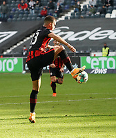 Andre Silva (Eintracht Frankfurt)<br /> - 03.10.2020: Fussball  Bundesliga, Saison 20/21, Spieltag 3, Eintracht Frankfurt vs. TSG 1899 Hoffenheim, emonline, emspor, v.l. Deutsche Bank Park<br /> Foto: Marc Schueler/Sportpics.de <br /> Nur für journalistische Zwecke. Only for editorial use. (DFL/DFB REGULATIONS PROHIBIT ANY USE OF PHOTOGRAPHS as IMAGE SEQUENCES and/or QUASI-VIDEO)