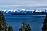 Beautiful Flathead Lake in Montana. Big blue skies and crystal clear waters. Few places like it anywhere on earth
