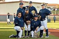 SAN ANTONIO, TX - FEBRUARY 12, 2020: The Houston Baptist University Huskies fall to the University of Texas at San Antonio Roadrunners 6-2 at Roadrunner Field (Photo by Jeff Huehn).