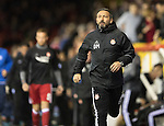 Aberdeen v St Johnstone…22.09.16.. Pittodrie..  Betfred Cup<br />Dons boss Derek McInnes<br />Picture by Graeme Hart.<br />Copyright Perthshire Picture Agency<br />Tel: 01738 623350  Mobile: 07990 594431
