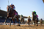 TAPIZAR, ridden by Corey Nakatani and trained by Steve Asmussen, wins the Breeders' Cup Dirt Mile at Santa Anita Park in Arcadia, California on November 3, 2012