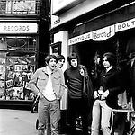 The Kinks 1966 in Carnaby Street Pete Quaife Mick Avory Ray Davies and Dave Davies<br /> © Chris Walter