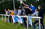 Pix Magi Haroun 26.08.2020<br /><br />REPORTER: Gideon Brooks:<br />Pix shows the first crowd of 150 fans let in to watch Daisy Hill FC v Bury FC. Fans catch a loose ball during the match