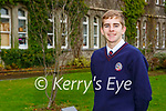 St Brendan's College student Tom Knocblauch who has been named the Young Economist of the Year