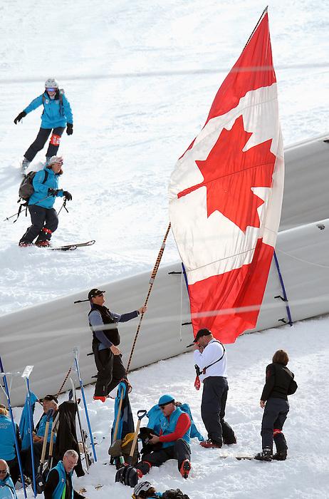 Vancouver 2010 - Para Nordic Skiing // Ski paranordique.<br /> Jody Barber competes in Para Nordic Skiing // Jody Barber participe en ski paranordique. 15/03/2010.