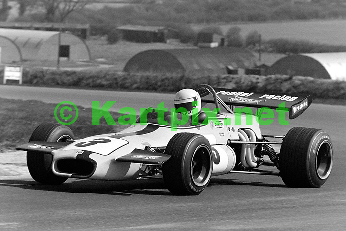 """XXVI B.A.R.C. """"200"""" 1971<br /> Yellow Pages - Jochen Rindt Memorial Trophy<br /> European Trophy for Formula 2 Drivers, Round 2<br /> Thruxton Circuit, Andover, Great Britain"""