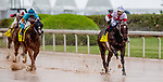 April 13, 2019: Mitole #4, with jockey Ricardo Santana, wins Count Fleet Handicap race at Oaklawn Racing Casino Resort  on April 13, 2019 in Hot Springs, Arkansas. Photo by Carolyn Simancik/Eclipse Sportswire/Cal Sport Media