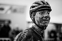 Toon Vandebosch's (BEL/Pauwels Sauzen -Vastgoedservice) post-race face<br /> <br /> Superprestige cyclocross Hoogstraten 2019 (BEL)<br /> Elite Men's Race<br /> <br /> ©kramon