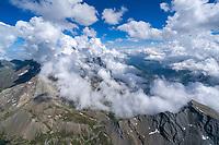 Mont Viso:EUROPA,  FRANKREICH, HAUT ALPES 12.08.2013: Gipfel des Mont Viso