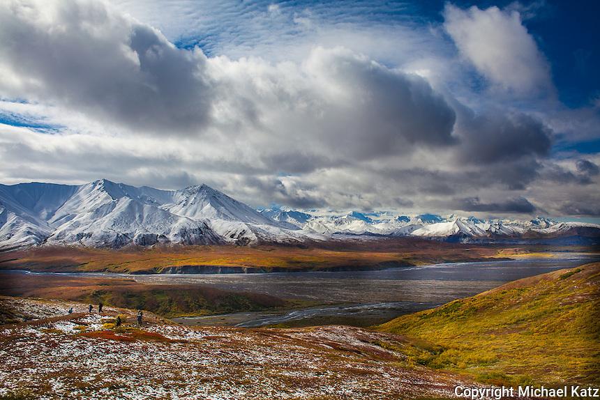 Alaska Range From Eielson Visitor Center