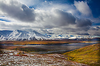 Alaska Range From Eielson Visitor Center