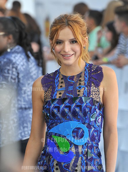 Bella Thorne at the 2015 MTV Movie Awards at the Nokia Theatre LA Live.<br /> April 12, 2015  Los Angeles, CA<br /> Picture: Paul Smith / Featureflash