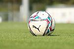 Der Spielball in Walldorf  beim Spiel, FC Astoria Walldorf - SC Freiburg II.<br /> <br /> Foto © PIX-Sportfotos *** Foto ist honorarpflichtig! *** Auf Anfrage in hoeherer Qualitaet/Aufloesung. Belegexemplar erbeten. Veroeffentlichung ausschliesslich fuer journalistisch-publizistische Zwecke. For editorial use only. DFL regulations prohibit any use of photographs as image sequences and/or quasi-video.