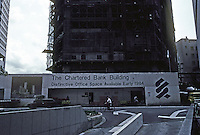 Singapore: Chartered Bank Building--to open early 1984. Photo '83.