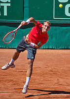 Netherlands, The Hague, Juli 21, 2015, Tennis,  Sport1 Open, Thiemo de Bakker (NED)<br /> Photo: Tennisimages/Henk Koster