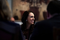 New Zealand Prime Minister Jacinda Ardern's government is sworn in for a second term at Government House in Wellington, New Zealand on Friday, November 6, 2020. Photo: Dave Lintott / lintottphoto.co.nz
