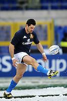 """Andrea Masi Italia.Roma 11/20/2012 Stadio """"Olimpico"""".Rugby 6 Nations Tournament - Torneo delle 6 Nazioni 2012.Italia Vs Inghilterra - Italy Vs England .Foto Insidefoto Andrea Staccioli"""