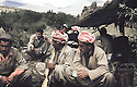 Iraq 1980.Peshmergas resting in Kalashin.Irak 1980.Repos de peshmergas a Kalashin