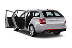 Car images close up view of a 2017 Skoda Octavia Combi RS 5 Door Wagon doors