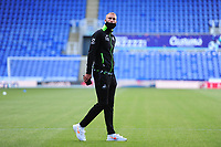 Mike van der Hoorn of Swansea City arrives for the Sky Bet Championship match between Reading and Swansea City at the Madejski Stadium in Reading, England, UK. Wednesday 22 July 2020.