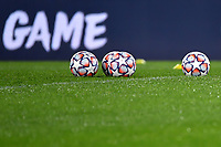 Some official Adidas champions league balls are seen during the Champions League Group Stage F football match between SS Lazio and Club Brugge at stadio Olimpicoin Rome (Italy), December, 8th, 2020.