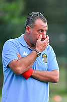 Charleroi's assistant coach Giovanni Dolore pictured during a female soccer game between KRC Genk Ladies and Sporting Charleroi  on the first matchday of the 2020 - 2021 season of Belgian Women's SuperLeague , friday 28 of August 2020  in Genk , Belgium . PHOTO SPORTPIX.BE   SPP   STIJN AUDOOREN