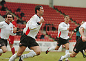 20040327     Copyright Pic : James Stewart.File Name : jspa08_clyde_v_stmirren..JACK ROSS CELEBRATES SCORING CLYDE'S LATE EQUALISER.....James Stewart Photo Agency 19 Carronlea Drive, Falkirk. FK2 8DN      Vat Reg No. 607 6932 25.Office     : +44 (0)1324 570906     .Mobile  : +44 (0)7721 416997.Fax         :  +44 (0)1324 570906.E-mail  :  jim@jspa.co.uk.If you require further information then contact Jim Stewart on any of the numbers above.........