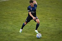 SAN JOSE, CA - SEPTEMBER 5: Paul Marie #33 of the San Jose Earthquakes plays the ball during a game between Colorado Rapids and San Jose Earthquakes at Earthquakes Stadium on September 5, 2020 in San Jose, California.