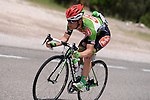 Kevin Seeldraeyers (BEL) Torku on bottle duty in the Taurus Mountains during Stage 3 of the 2015 Presidential Tour of Turkey running 165.3km from Kemer to Elmali. 28th April 2015.<br /> Photo: Tour of Turkey/Mario Stiehl/www.newsfile.ie
