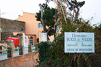 Domaine Borie de Maurel. In Felines-Minervois. Minervois. Languedoc. The winery building. France. Europe.