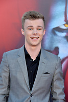 "LOS ANGELES, USA. August 27, 2019: Nicholas Hamilton at the premiere of ""IT Chapter Two"" at the Regency Village Theatre.<br /> Picture: Paul Smith/Featureflash"