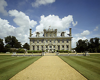 BNPS.co.uk (01202) 558833<br /> Pic: NT/RichardPink/BNPS<br /> <br /> The South Terrace and lawn at Kingston Lacy, with Italian well-heads, and a view to the C17th house.<br /> <br /> Slow and steady wins the race...<br /> <br /> A set of bronze tortoises stolen from a country mansion have finally been returned... 29 years later.<br /> <br /> The bronze sculptures based on the wealthy 19th century owner's pet were stolen from Kingston Lacy in Dorset in 1992 and reported to the police but never found until a savvy historian spotted one up for auction recently.<br /> <br /> Following the trail, the National Trust traced the tortoise to an antiques dealer, who had acquired the set from a scrap metal dealer, completely unaware of their history.<br /> <br /> The four missing sculptures have finally been returned to Kingston Lacy and gone on display.