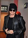 Singer Adam Lambert arrives in Japan