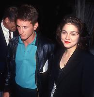 Sean Penn Madonna 1990<br /> Photo By John Barrett/PHOTOlink