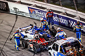 #10: Alex Palou, Chip Ganassi Racing Honda, Crash<br /> #21: Rinus VeeKay, Ed Carpenter Racing Chevrolet