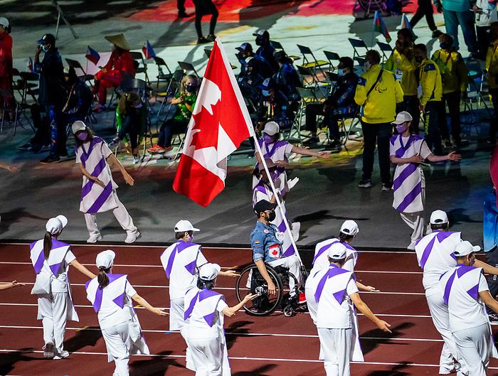 Brent Lakatos, Tokyo 2020.<br /> Highlights from the closing ceremony of the Tokyo 2020 Paralympic Games // Faits saillants de la cérémonie de clôture des Jeux paralympiques de Tokyo 2020. 09/5/2021.