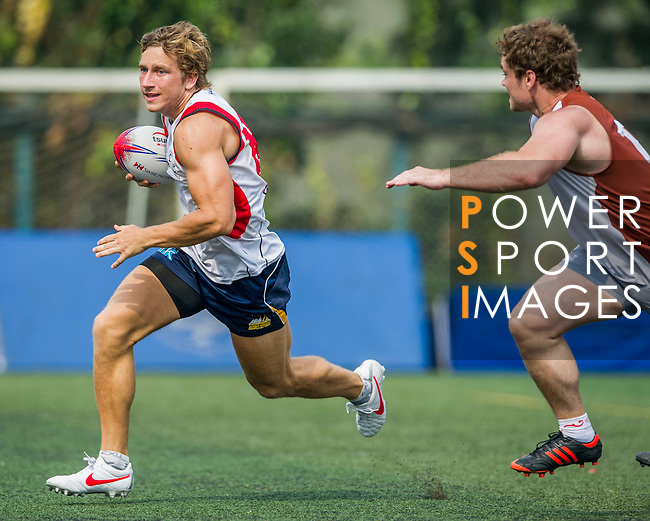 Profile Asia vs UniGroup during the Swire Properties Touch Tournament at Kowloon King's Park Sports Ground on 13 July 2013 in Hong Kong, China. Photo by Victor Fraile / The Power of Sport Images