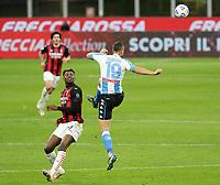 Milano 14-03-2021<br /> Stadio Giuseppe Meazza<br /> Serie A  Tim 2020/21<br /> Milan - Napoli<br /> Nella foto: Nikola Maksimovic                                <br /> Antonio Saia