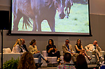 SARATOGA SPRINGS, NY - AUG 13: OTTB Success Stories Panel the Inaugural Equestricon Convention on August 13, 2017 in Saratoga Springs, New York. photo by Eclipse Sportswire/Equestricon