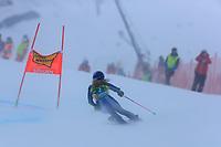 17th October 2020, Rettenbachferner, Soelden, Austria; FIS World Cup Alpine Skiing Womens Downhill; Marta Bassino (ITA) in action in the fog