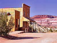 Paria Movie Set. Grand-Staircase Escalante National Monument, Utah