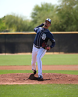 Michel Baez - San Diego Padres 2019 extended spring training (Bill Mitchell)