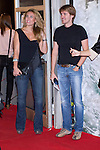 08.10.2012. Celebrities attend the premiere of Kinepolis Cinema in Madrid of the movie 'The Impossible'. Directed by Juan Antonio Bayona and starring by  Naomi Watts and Tom Holland. In the image Rocio Tucco and Manuel Marso Velasco (Alterphotos/Marta Gonzalez)